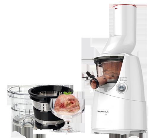 Kuvings Whole Slow Juicer B6000 Superplus : Wyciskarki do naturalnych i zdorwych sokow z owocow i warzyw